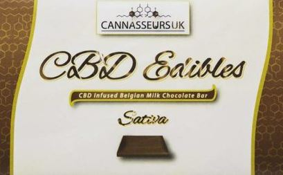 Premium CBD Belgian Dark Chocolate Bar 100g